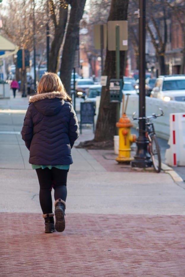 Walking in Downtown Frederick