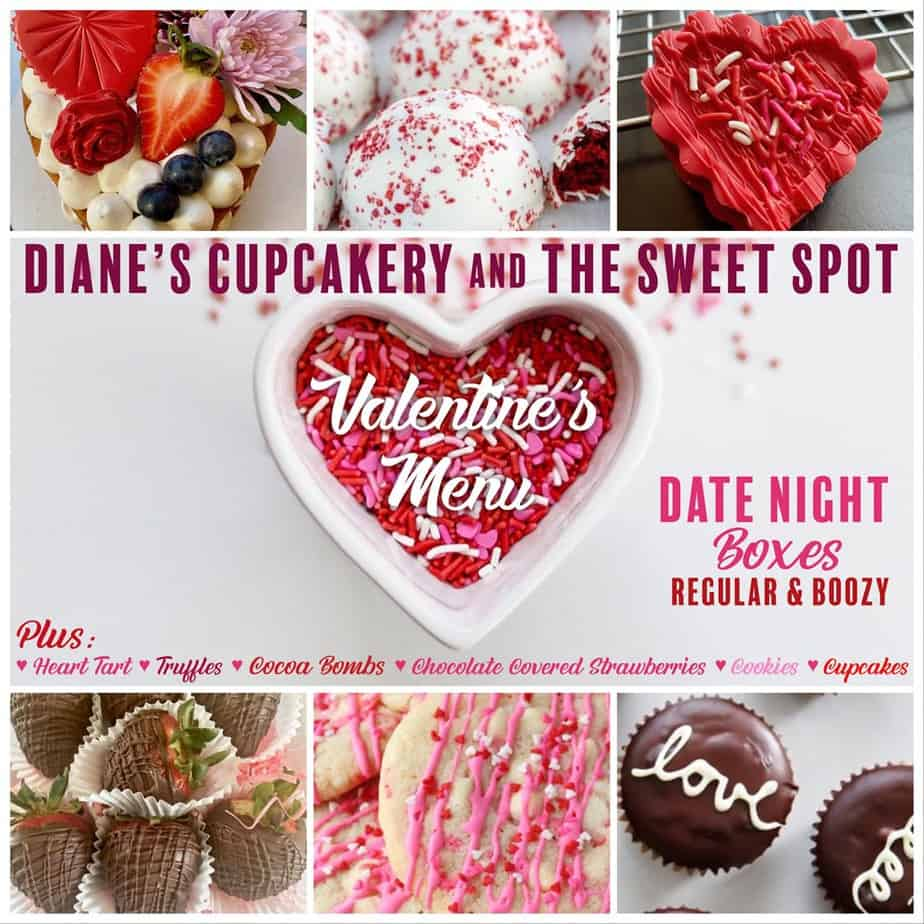 Valentine's Day Dinner in Frederick Md {& Dessert Too!}
