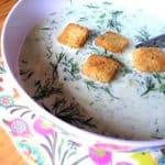 Healthy WW Chilled Cucumber Soup - Zero SmartPoints