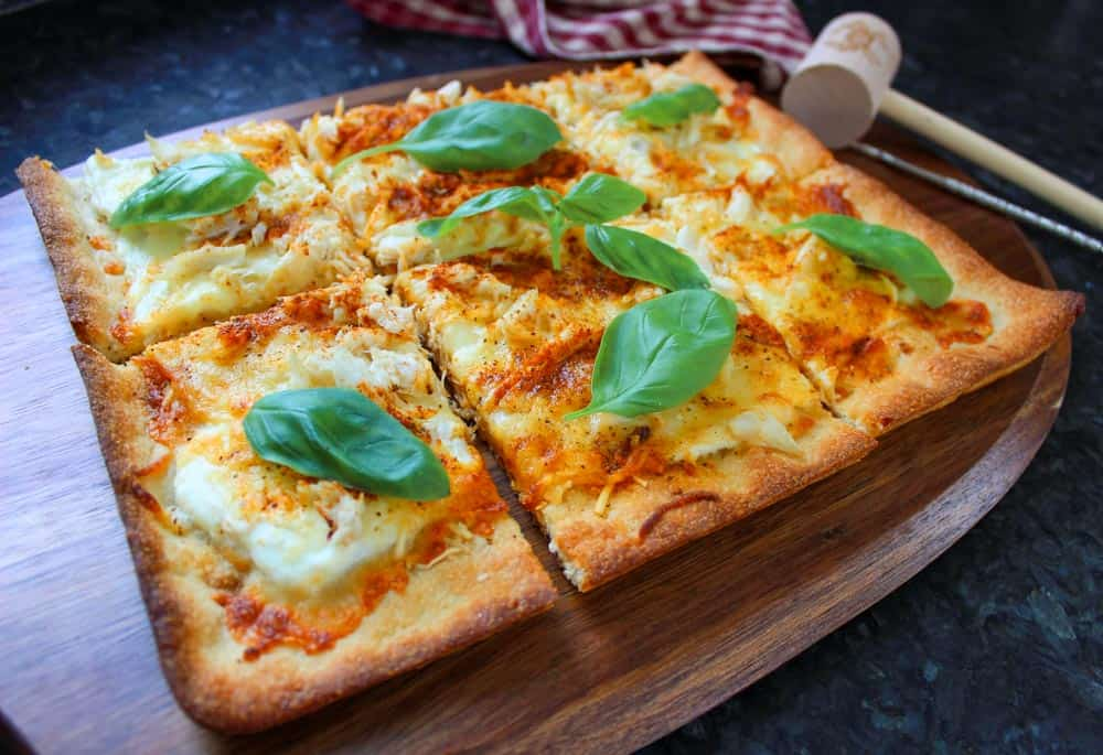 Recipe with Crab Meat: Maryland Crab Pizza!