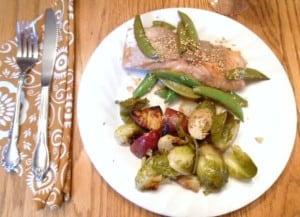 Healthy WW Foil Pack Salmon Recipe - 4 SmartPoints