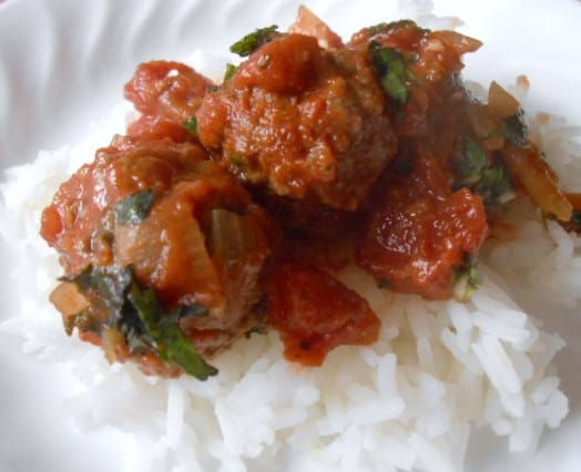 Healthy WW North African Meatball Stew - 5 SmartPoints