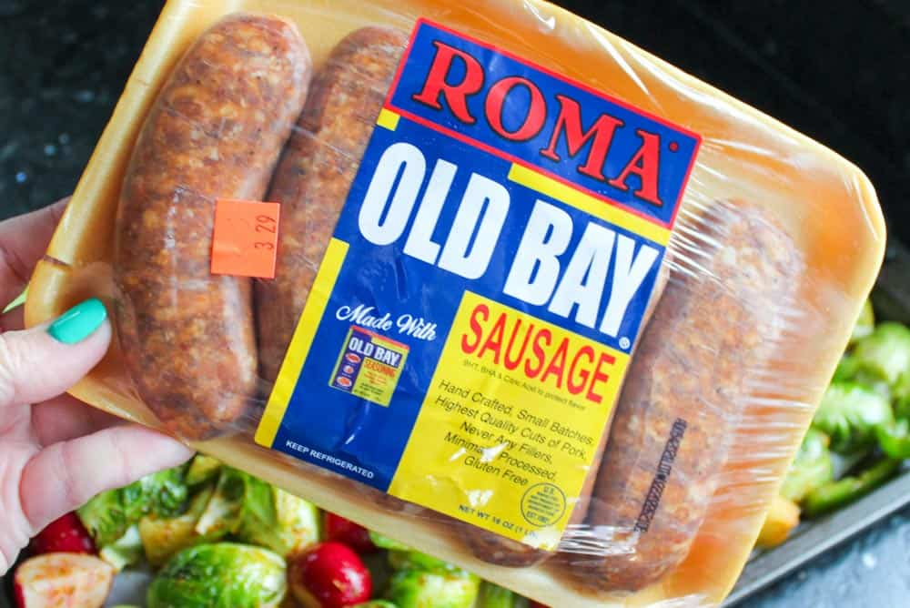 Easy Sheet Pan Sausage and Veggies
